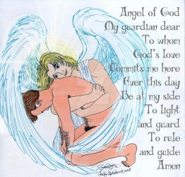 Guardian Angel Prayer by E-Ocasio