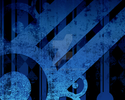 Abstract Background Black 'n Blue by leeoxleeo