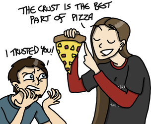 Draw the Squad- Pizza Crust Betrayal by EmuCat