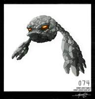 Geodude!  Pokemon One a Day!
