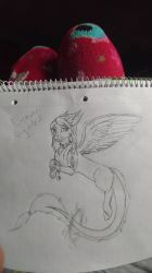 Another Draqoodle oc by Andermarek107
