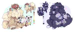 Werewoof Adopts ~ (Closed) by LunarAdopts