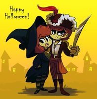 Happy Halloween! by MissButlerArt