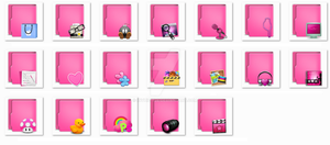 Folders Aquave Pink by invhizible