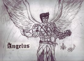 winged angelus by megamike75