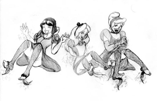 Disney's Tickle Spell by RalfTheRalfMan