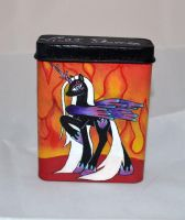 Violet Flames personalized cigartte case by Soulren