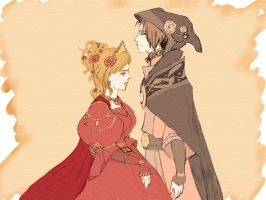 Queen and mage by Eichi-D-Aman