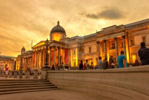 The National Gallery London by JSWoodhams