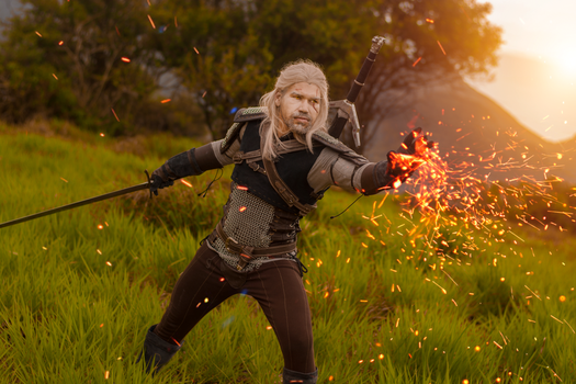 Geralt of Rivia by Paula2099