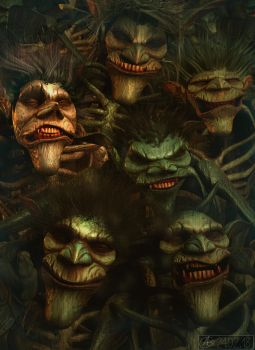 Archaeology: Pygmy Troll Zombies! by Belvane