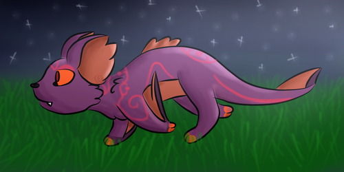[Artfight] A Nightly Run by Cherry-Spot