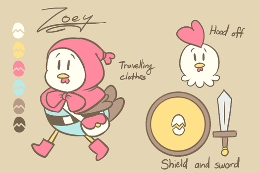 EnterVOID: Zoey reference 12/24/16 by Pitafish