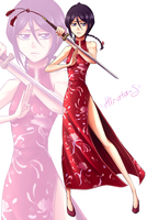 Rukia - Cninese outfit by Hirata105