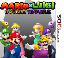 Mario and Luigi: Double Trouble - Boxart by Nutter-Butter