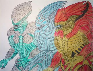 Mass Effect: New Xenomorphs by DBZ2010