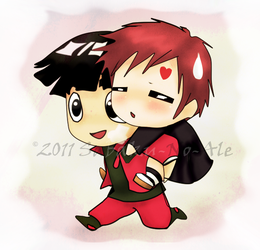 P.C: LeeGaa chibis by The-PirateQueen