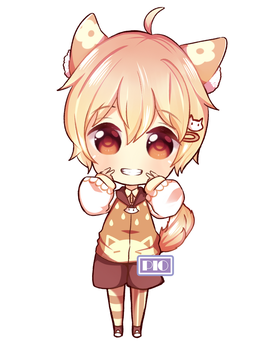 Chibi Request For Friend - Oc belong to Q-iu by RuRie-R2