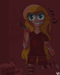 Lizzie No Good (Ms. Creeptales Fanart) by literallysomeartist
