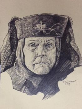 Lady Olenna, Kingslayer by olybear