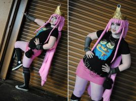 Punkrock Princess by The-MoonSquid