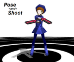 MMD: Pose and Shoot by SilverStarlite