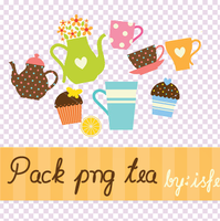 Pack png Tea By isfe by Isfe