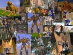 Cheetor collage v1.1 by AlphaPrimeDX