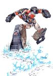 Crasher_earth-quake-attack by a-loft-on-cybertron