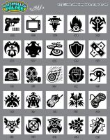 Vector Icons Set 01 by baby-marshmallow
