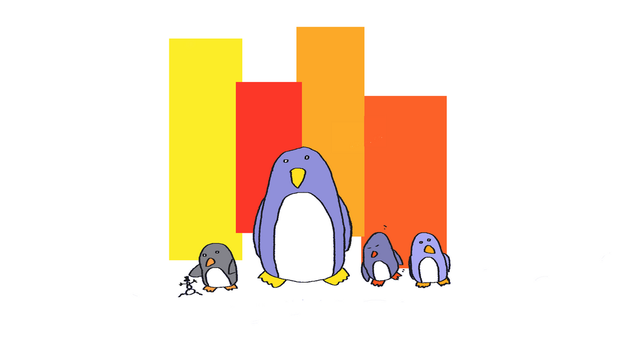 Comical Penguins by tab-key