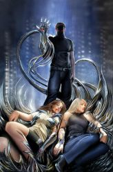 witchblade 117 cover by nebezial