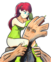 Groot and Ivy by samandfuzzy