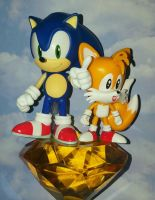 Sonic and Tails by ThePrincessRobotRoom