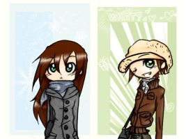 Cold but together by NicoLin