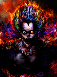 Death Note Ryuk by Ururuty