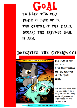 My little Fluxx - Defeating the Cyberponys by Jemrol