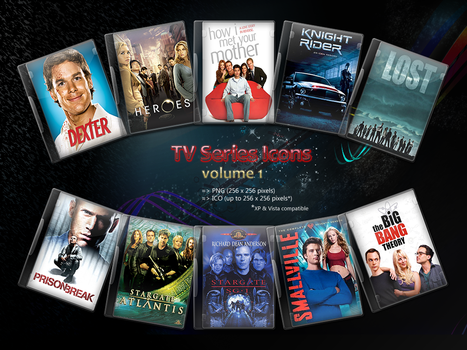TV Series Icons volume 1 by sheppii