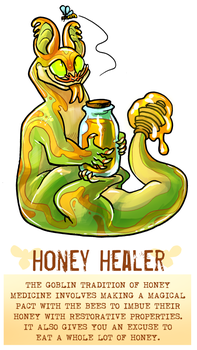 CDC day 22 - Healer by flatw00ds