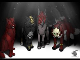 Cool's pack by thelunapower