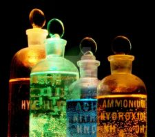 Chemicles in Flasks by deeprana94