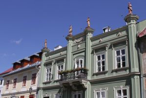 The inhabitants on the roof by utico