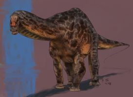 Brontosaurus louisae by XStreamChaosOfficial