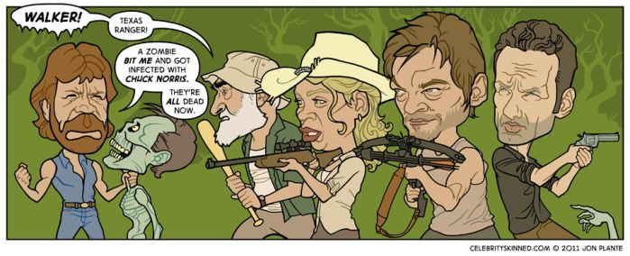The Walking Dead by jonplante