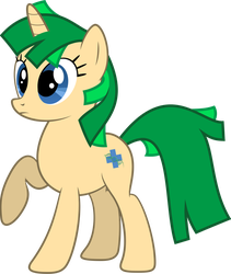 Science OC Pony by delectablecoffee