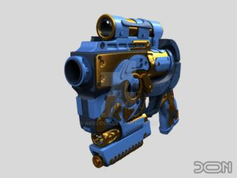 Gun for Mister P.I.G by akosidon