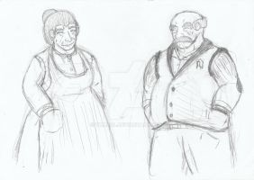 Giuseppe and Rose Marie by Thadal