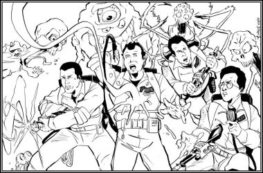 Ghostbusters On The Job by NathanKroll