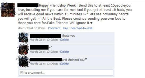 Epic Facebook Fail by omeganeep