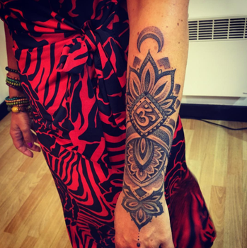 MANDALA Arm TATTOO by Olive 2016 by BPS-TATTOO